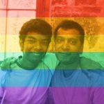 Brandon Balwant and Partner, at Houston Pride 2015